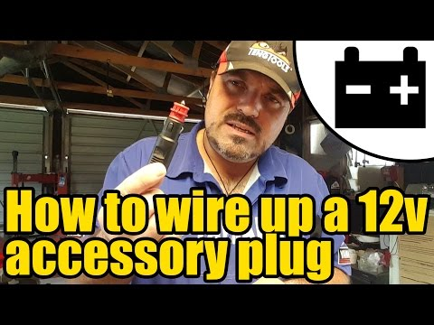 How to wire up a 12v accessory plug #1953