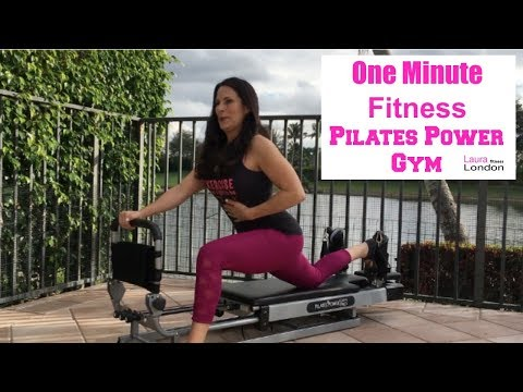One Minute Fitness - On the Pilates Power Gym With Laura London