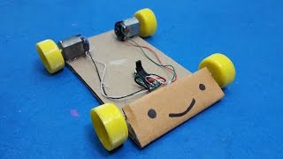 How To Make A Simple RC Car - Remote Control