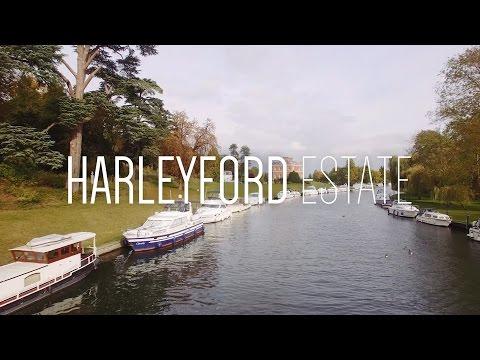 Harleyford Estate, Buckinghamshire - DJi Drone Quadcopter