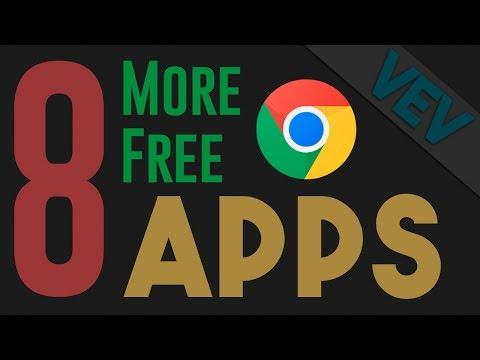 8 More Free Google Chrome Apps