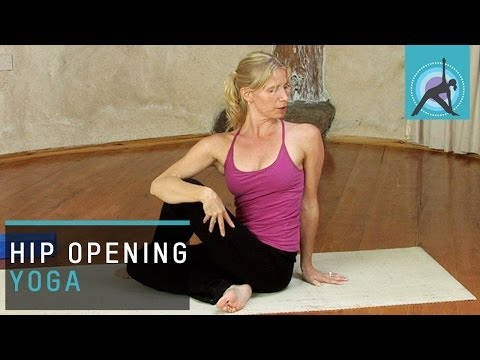 45 minute Hip Opening Yoga Class