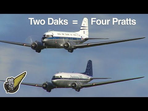Two Douglas DC-3 Dakotas