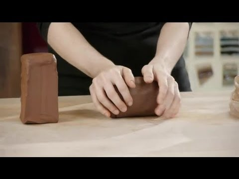 Definition of Conditioning Pottery Clay : Making Pottery