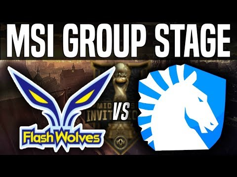 FW vs TL - MSI 2018 Group Stage Day 5 - Flash Wolves vs Team Liquid | League Of Legends MSI 2018