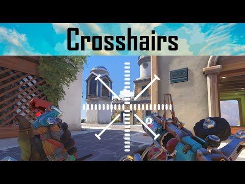 Talking About Crosshairs   Best Overwatch Custom Crosshairs Settings