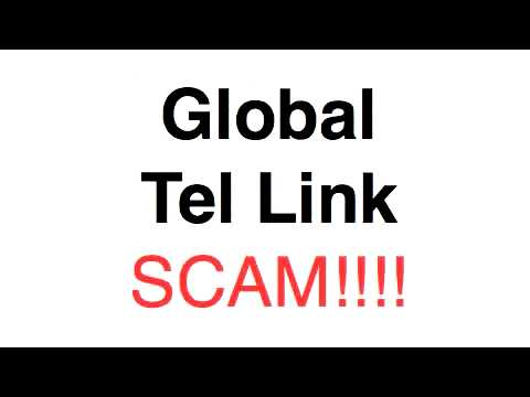 Global Tel Link is a SCAM!!!!!!!!!!!!!