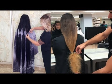 Viral Videos on Instagram 2017   New Hairstyles and Haircuts Tutorials