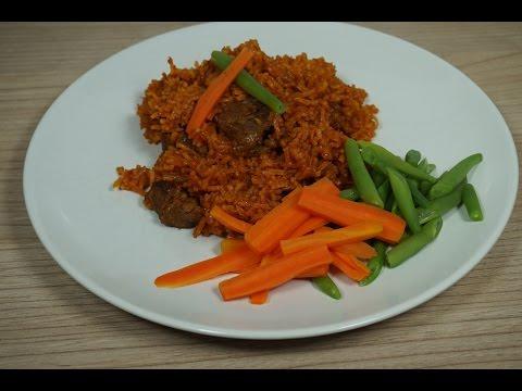 Beef Jollof Rice