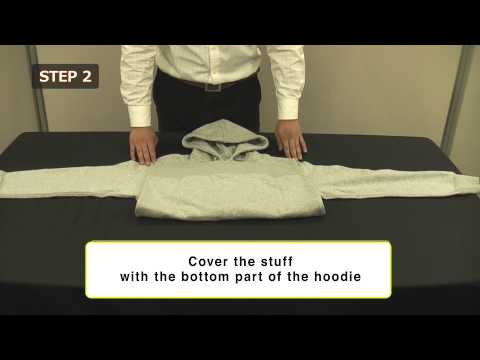 How to make a shoulder bag with a hoodie