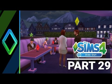 Sims 4 Dine Out Let's Play - Part 29