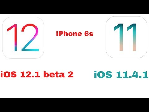 iOS 12.1 beta 2 vs iOS 11.4.1 quick Speed test On iPhone 6s | iSuperTech