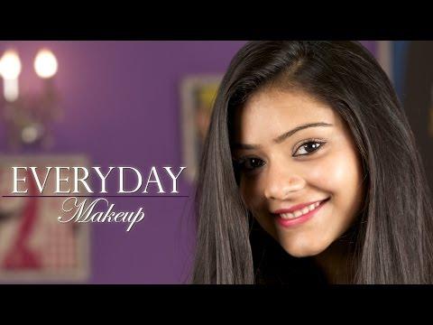 Simple Everyday Makeup | Routine Makeup | Simple Everyday Makeup Tutorial