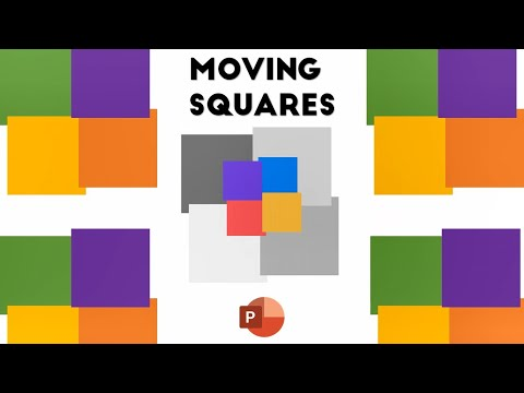 Moving Squares | Animated Loaders and Spinners in PowerPoint 2016 Tutorial | The Teacher