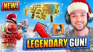 *NEW* LEGENDARY SNOWBALL LAUNCHER  in Fortnite: Battle Royale!