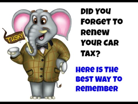 I forgot To Renew My Car Tax - Remember My Car Tax