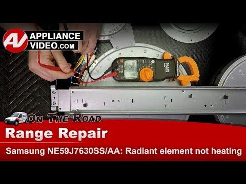Samsung Range / Oven - Triple Radiant Element - Diagnostic & Repair