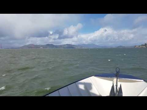 Ferry from San Francisco to Angel Island (1/2)