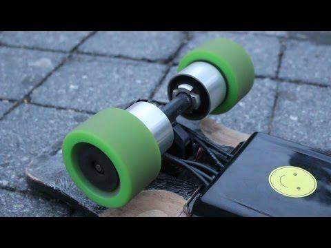 DIY CUSTOM-BUILT ELECTRIC SKATEBOARD! 30MPH!