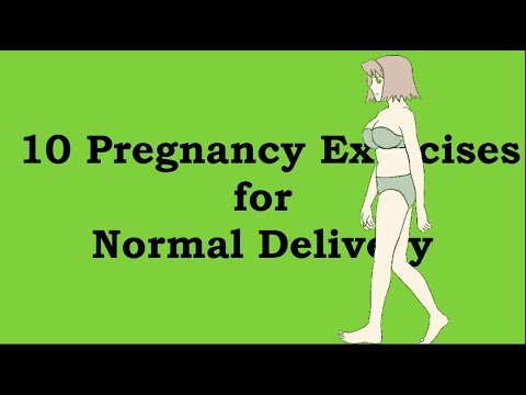 10 Pregnancy Exercises for Normal Delivery | Is Normal delivery possibe?