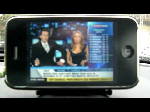 Sky Mobile TV: Sky Sports News in the car