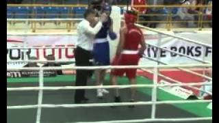 Azerbaycanlı boksör Vatan Hüseynli, olimpiyat vizesi aldı