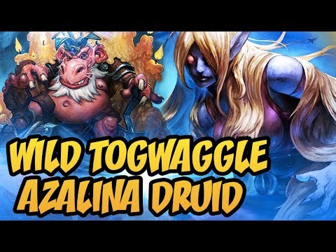 Hearthstone: Wild Togwaggle Azalina Druid