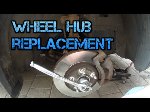 How to replace a Wheel Hub (2006 Chevy HHR)