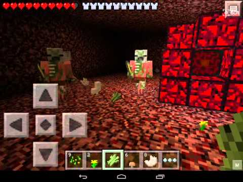 MCPE: How to make a nether portal