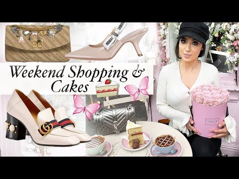 Weekend Luxury Shopping In Harrods & Discovering The Prettiest Places In London  🍰💖