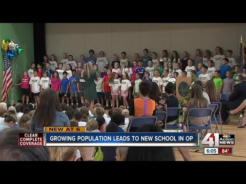 Growing population leads to new school in Overland Park