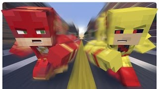 Minecraft: The Reverse Flash vs Batman and Robin! (Minecraft Roleplay)