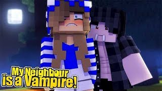 My Neighbour is a Vampire #1 (Little Carly Minecraft Roleplay).