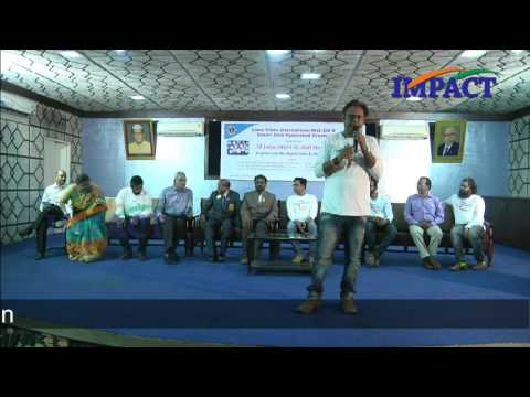 How to start a successful blog by Yogesh Mankani at AIDSM Hyderabad