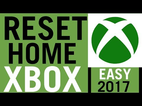 How To Reset Home Xbox [EASY 2018]