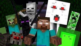 Monster School: Traps - Minecraft (bucketplanks)