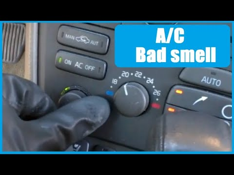 Air conditioning smell