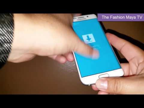 ▓---------►Como salir del modo de descarga para el Telefono Galaxy S6/Galaxy S7 y S7 Edge, Note 5