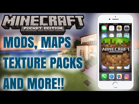 Minecraft PE 0.16.0+: How to install Mods, Texture Packs,Custom Maps|iOS Tutorial:NO PC,NO JAILBREAK