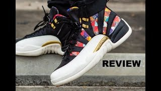 the latest 26471 94d0e Air Jordan 12 CNY Chinese New Year Retro 2019 Sneaker Honest Detailed Review   SNEAKERHEAD  NBA