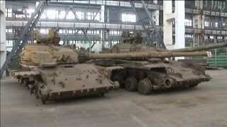 Tank Refurbishment for Ukraine Army: East Ukraine repairs military vehicles for armed forces