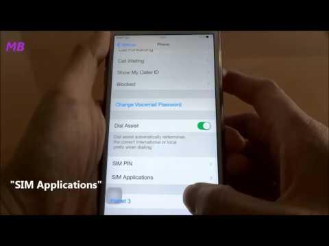 Multibyte MB - iPhone STK Setting Demo Eng