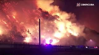 Imágenes infernales de los incendios en California, Estados Unidos