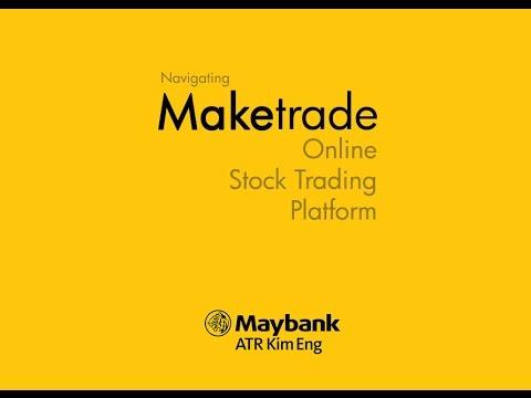 Maybank (Maketrade) Philippine Online Stock Trading Platform