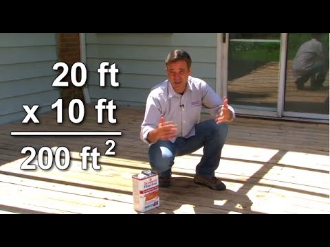 How Much Deck Stain do I Need? | Thompson's WaterSeal