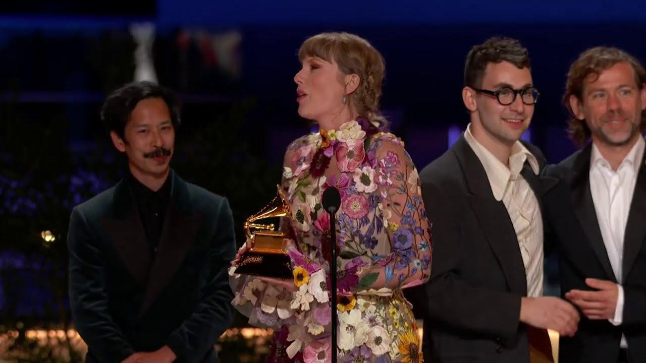 Taylor Swift Wins Album Of The Year | 2021 GRAMMY Awards Show Acceptance Speech