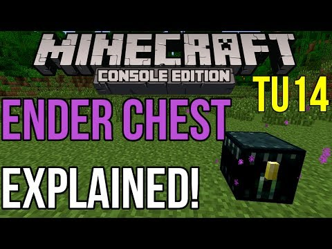Minecraft Xbox & PS3: Ender Chests Explained! | Coming in TU14