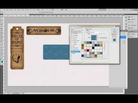 Vintage Brown Paper Labels - Photoshop tutorial - Piecesofpaint