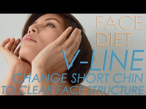 FACE DIET : 7. CHANGE SHORT CHIN TO CLEAR FACE STRUCTURE เปลี่ยนคางสั้นให้มีมิติ #iHealthiness