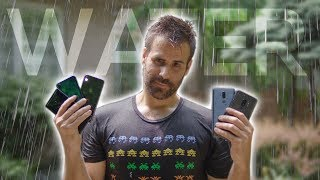 IPHONE X & SAMSUNG GALAXY S9 PLUS GET DESTROYED // ULTIMATE WATER RESISTANCE TEST!